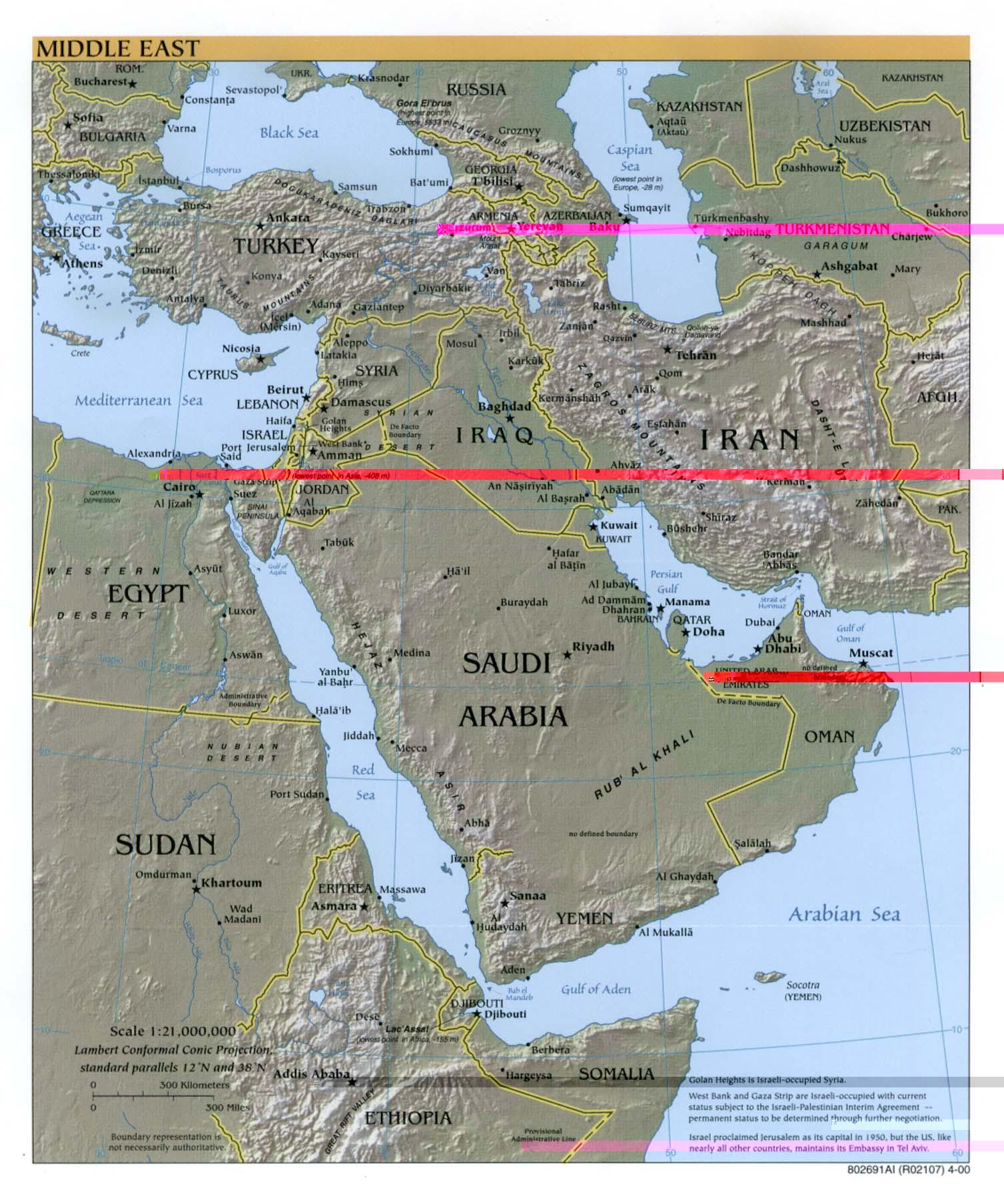Ближний восток общая 2000 306 k